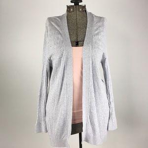 L.L. Bean Cardigan Sweater Grey sz Large
